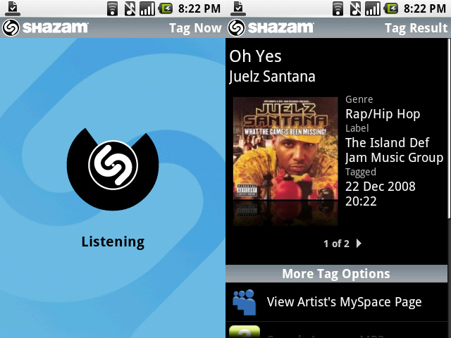 Download Shazam no Android