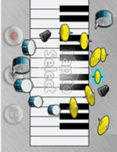 Piano-virtual-para-Nokia-asha